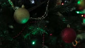 mroczne : Christmas and New Year tree decoration, garland and toys