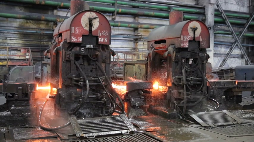 minério : Metallurgy. Fire steel moves through the apparatus. Overall plan.