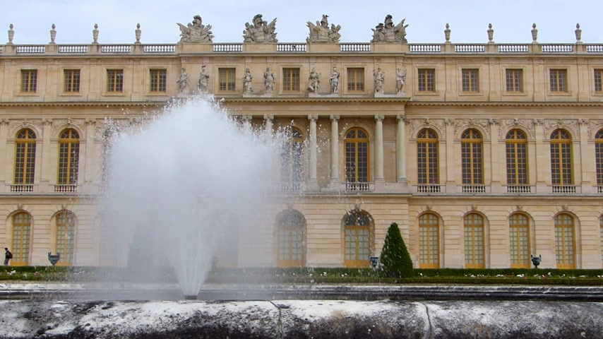 saray : The Palace of Versailles and Fountain, Paris France