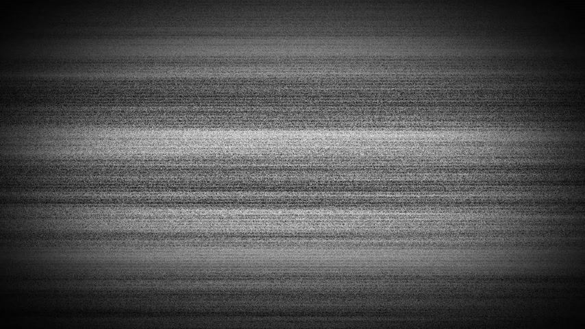 antique grunge : Static tv noise caused by bad signal reception, black and white. Turning TV on and off