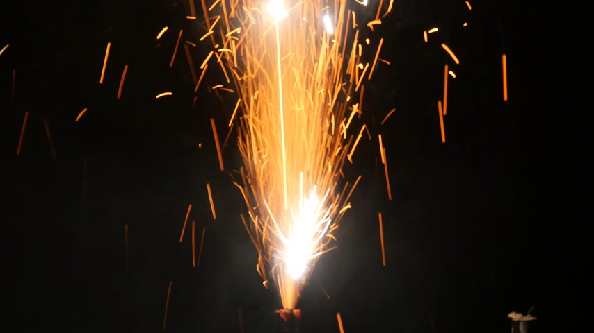 sylvester : fireworks Stock Footage