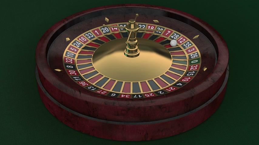 rodas : 3D Casinor Roulette Wheel seamlessly looped