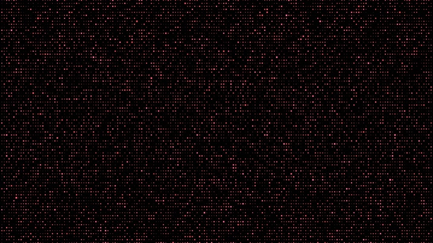 шум : Abstract Square Code Background red Стоковые видеозаписи