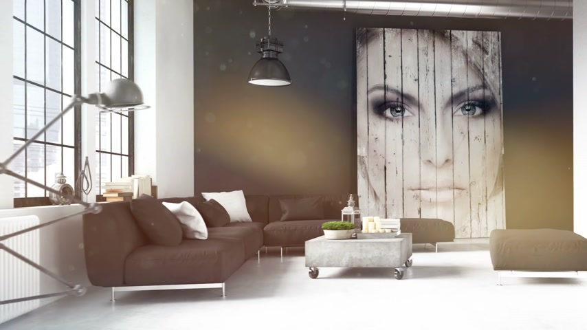 modern tasarım : living room of a penthouse. 3d rendering