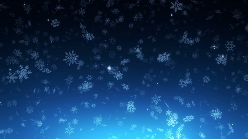 zimní : night christmas snowfall - loopable background