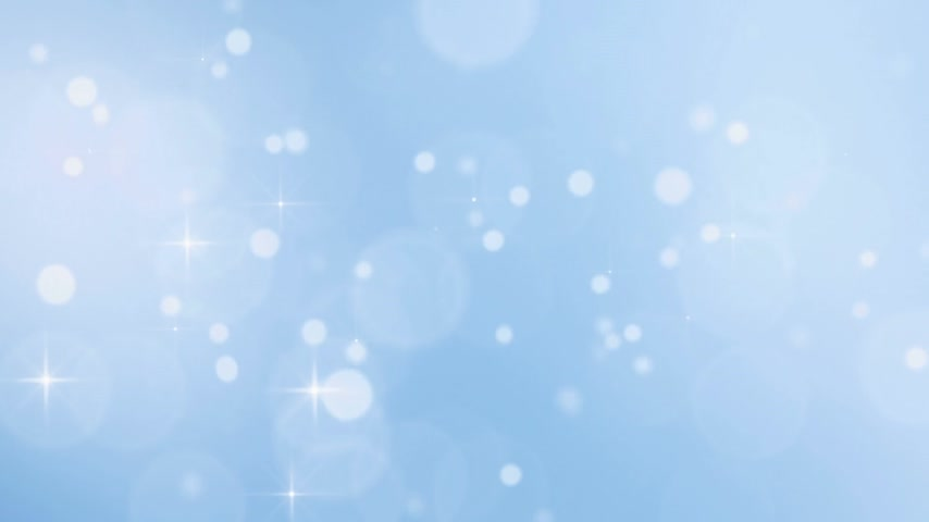 sniezynka : christmass snowfall with sparkles - loopable backgrounds Wideo