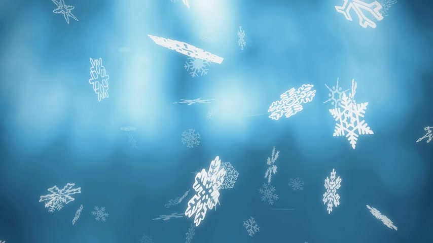 blue winter backgrounds - loopable animation