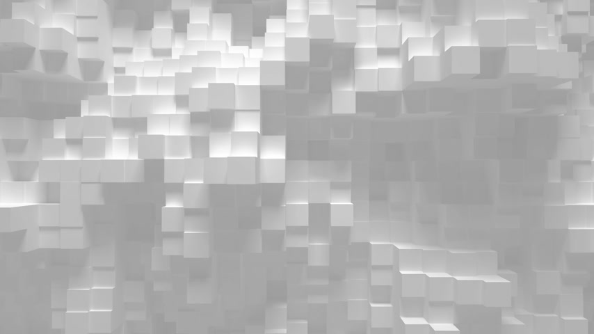 modern tasarım : Abstract geometric cubes loop background- 3D animation