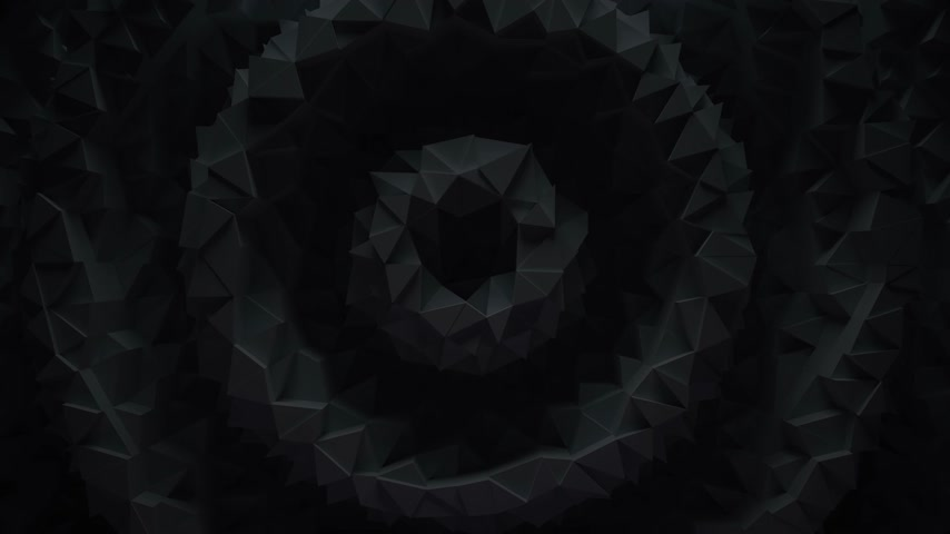 ポリゴン : Abstract geometric loop background 動画素材