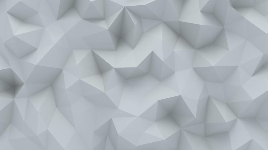 šedé pozadí : Abstract polygonal background loopable