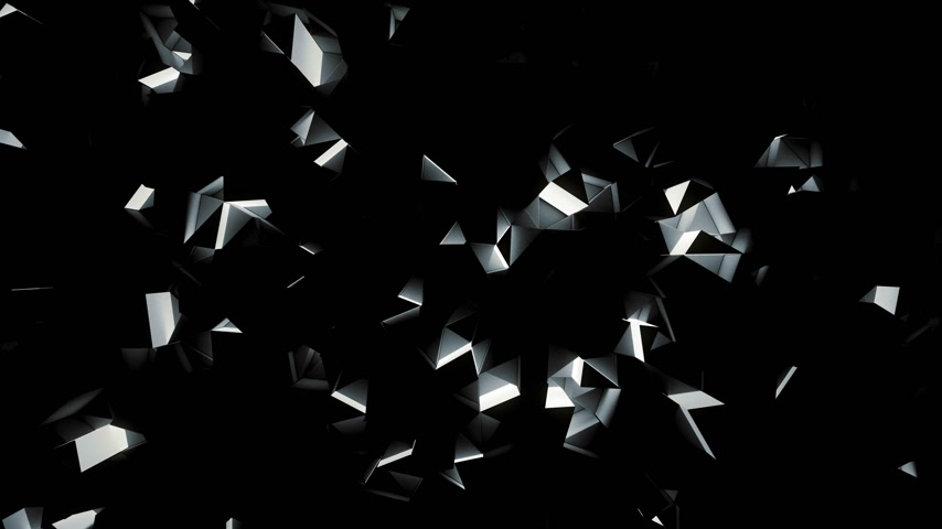 貴重な : Luxury blue crystal facet background 動画素材