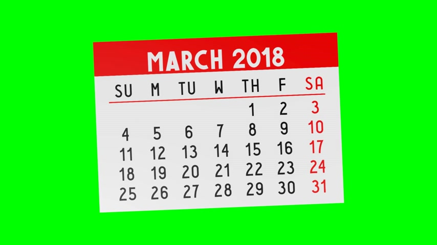 juni : 3D-kalender 2018 - greenbox