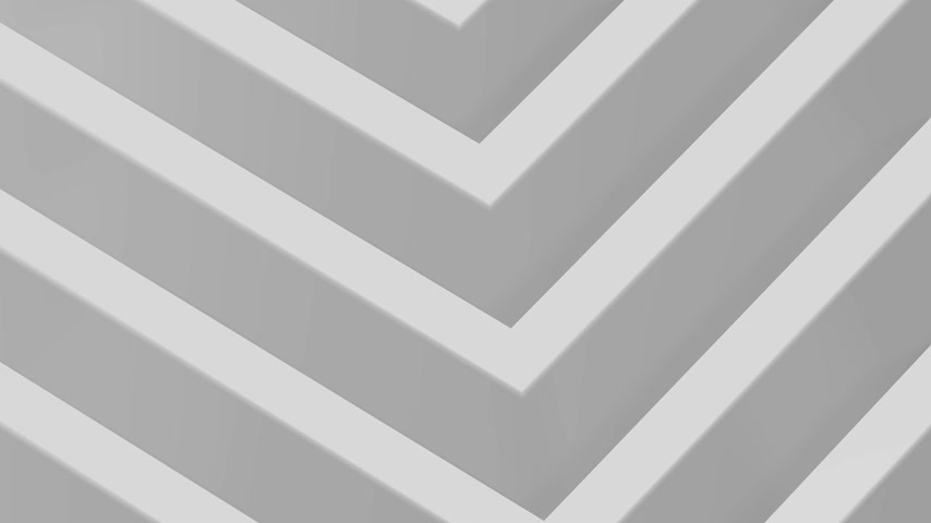 3D 4k black and white background - pattern animation - square shape