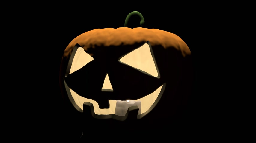 salva : 3D animation - pumpkins (Jack o Lanterns) - Happy Halloween! Dostupné videozáznamy