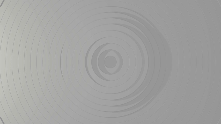3D 4k abstract background with spiral shapes - black and white monochromatic 動画素材