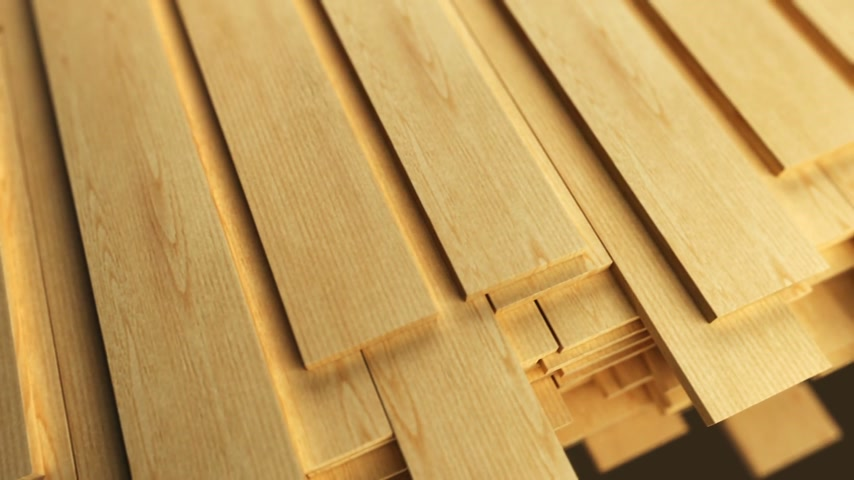 prkna : Clean freshly cut wooden planks.