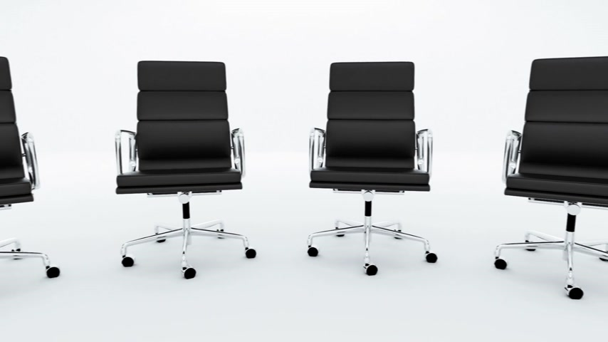 ergonomic : Ofiice chair loopable animation.