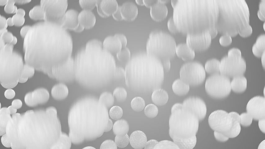 bolas : Huge number of golf balls is falling down and forming a wall in front of the camera. Animation has alpha split at the end. Video can be useful as transition in golf related material. Vídeos