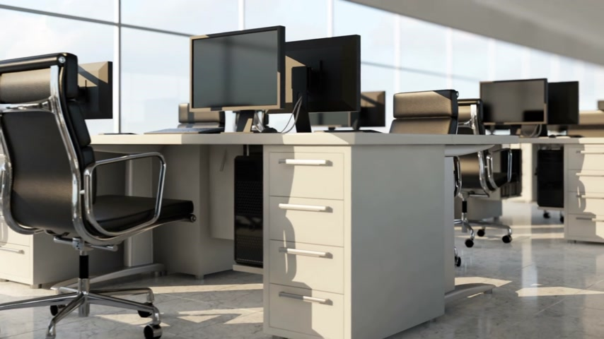 ergonomic : Modern office space.