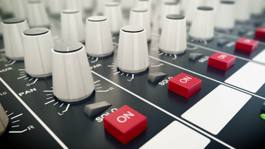 ladění : Mixing console also called audio mixer, sound board, mixing deck or mixer Dostupné videozáznamy