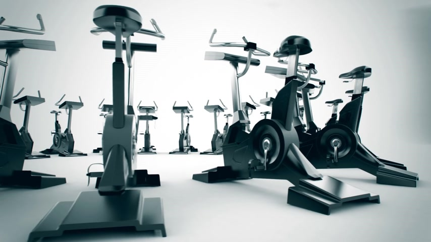 equipamentos esportivos : Gym equipment stationary bikes. Exercise bicycle, exercycle is a device used as exercise equipment. They help increasing general fitness and in training for cycle events. The exercise bike as low-impact, safe and effective cardiovascular exercise is also