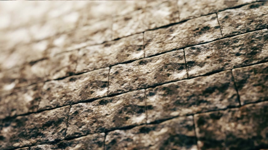 parede : The old brick wall background animation.