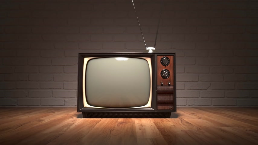 ayarlamak : 01567 Exhibition Of Old Retro Color Tv Sets With Antenna