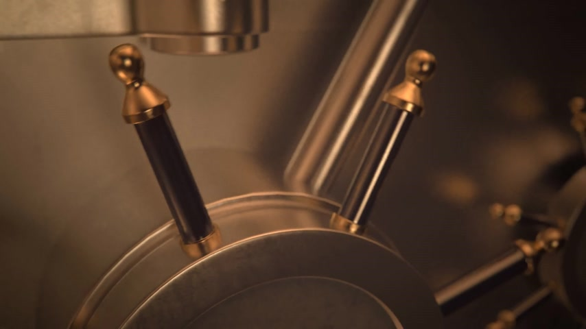 seguro : 01845 Opening Safe Door Of Bank Vault With Golden Ingots Inside