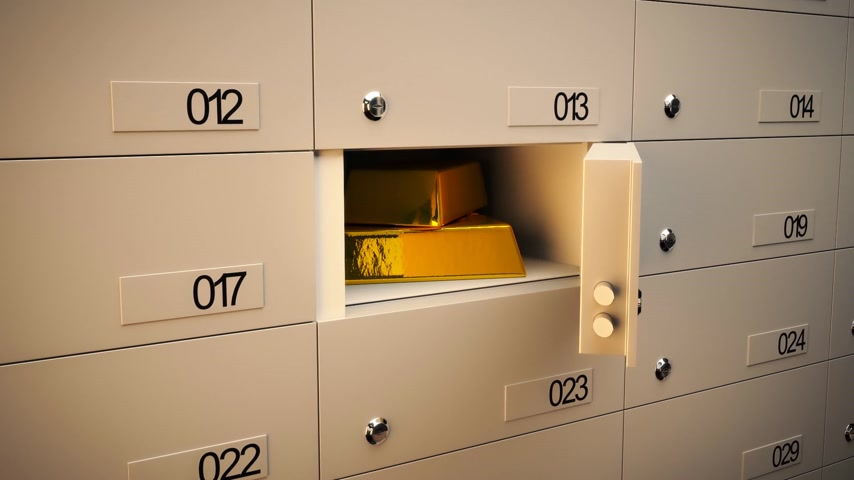 archívum : 01850 Safe Deposit Lockers In A Bank