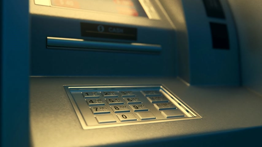 mennyiség : 02020 Atm Machine With Screen Displaying Withdrawal Amount