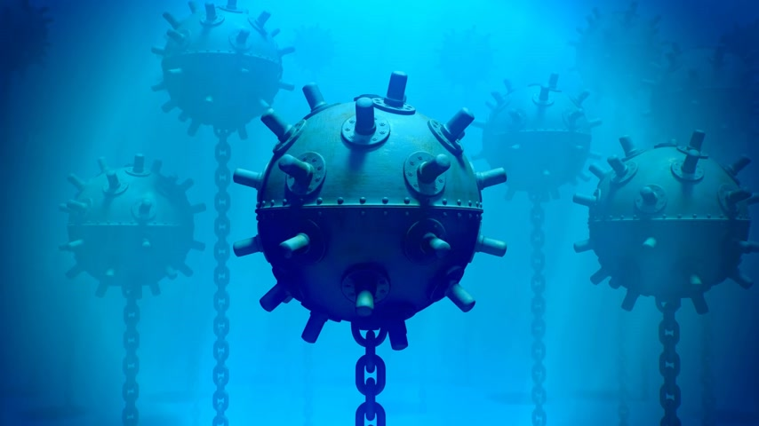 шахта : Naval mine is a self-contained explosive device placed in water to destroy ships or submarines.