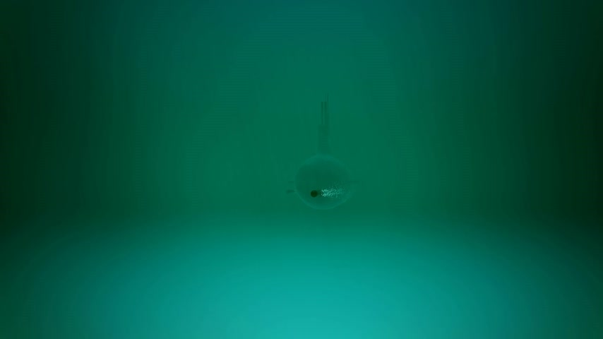 torpedo : Animation of firing underwater torepdoes. Stock Footage