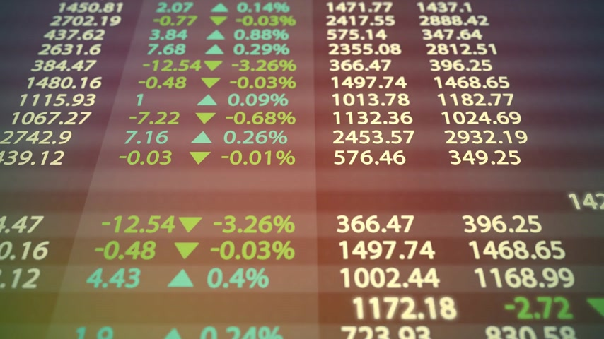 índice : Stock market board. May represent stock exchange, stock market indices or high frequency trading.