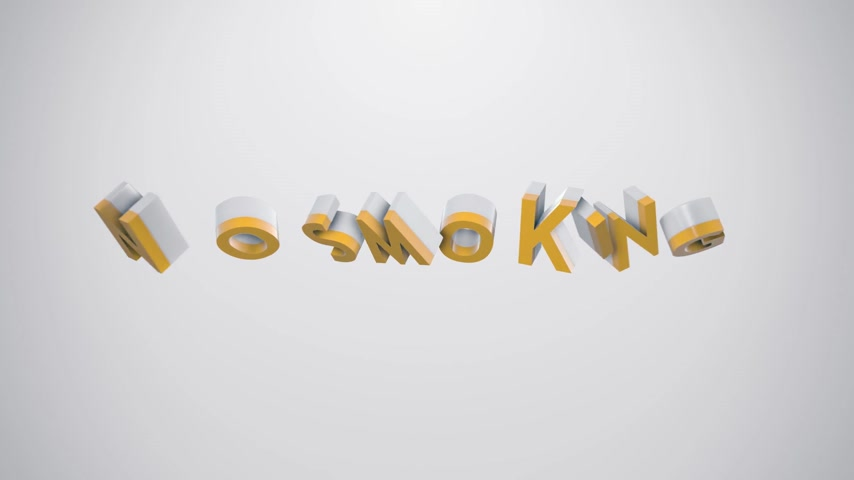 "viciado : Animated icon and typography illustrating ""no smoking"" term. Perfect for any medicine, wellness or lifestyle related purposes. Vídeos"