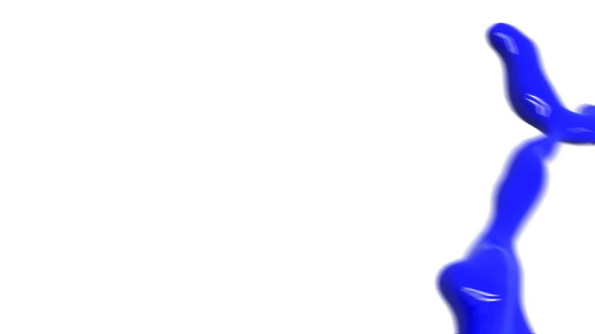 boyalar : Colored paint splashes in slow motion and freeze motion HD. Stok Video