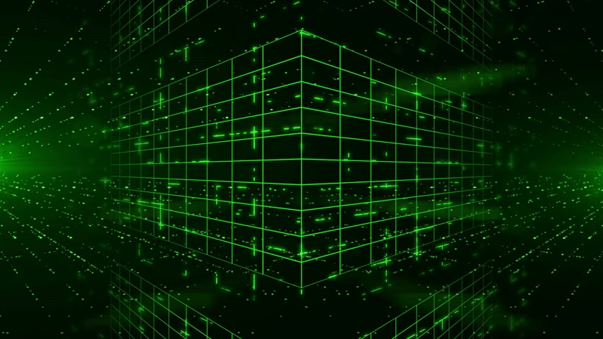 gösterileri : Abstract digital background with green laser rays. Light Show. HD 1080. Loopable 3d animation.