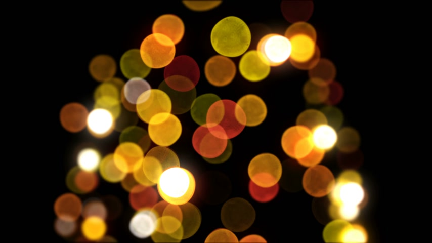 hábil : Bokeh New Year Tree Lights Blinking Seamless on Black Background. Loop-able 3d Animation. Merry Christmas and Happy New Year Concept. 4k Ultra HD 3840x2160
