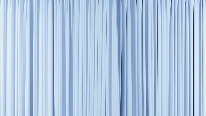 roupagem : Seamless Blue Curtain Opening and Closing Beautiful Looped 3d Animation of Abstract Realistic Curtain Revealing Background with Green Screen. Useful for Transitions. Alpha Mask 4k Ultra HD 3840x2160