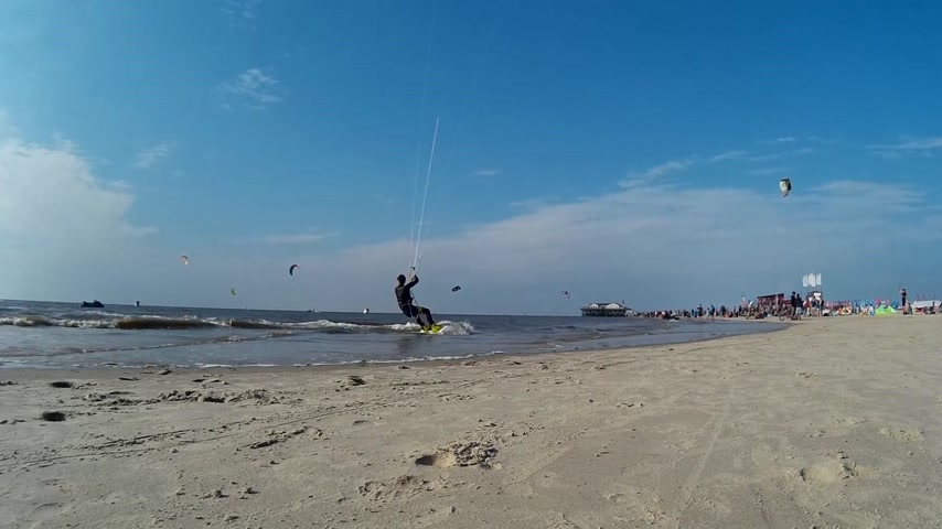slalom : Impression of the Kitesurf World Cup in St. Peter-Ording, Germany, August 21-30 2015  Editorial only