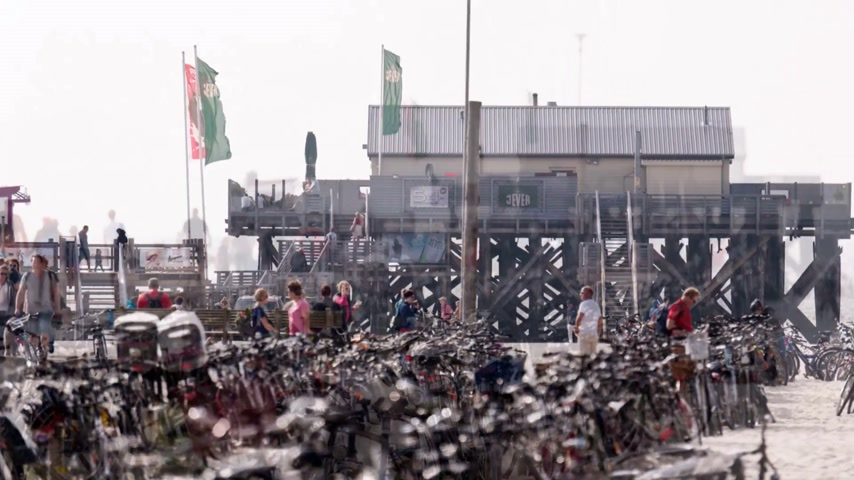 prezentaci : Impressions of the Kitesurf World Cup in St. Peter-Ording, Germany, 21 to 30 August 2015. Editorial only