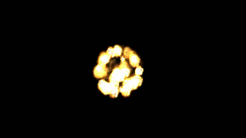 pirotecnia : Digital Particle Animation of a Firework