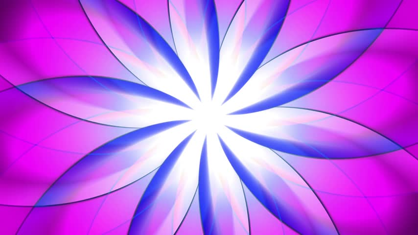 tripping : Abstract, colorful floral background. can be used as VJ-element or motion background. Stock Footage