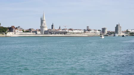 Западная Европа : Cityscape of La Rochelle, a town in western France. The lantern tower, on the left, is one of the towers in the old port.