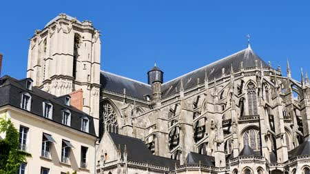 Le Mans Cathedral is a Catholic church located in Le Mans, France.