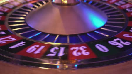patins : Roulette Wheel in a casino - if ball on 11 black