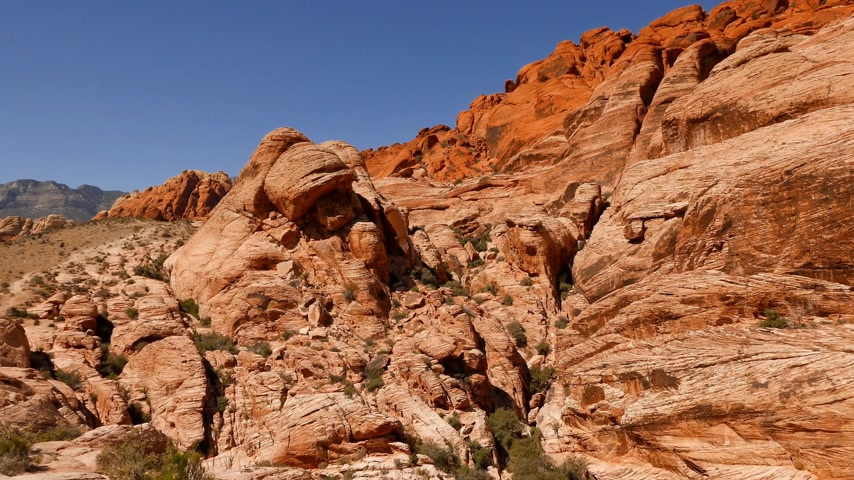 taş : Red Rock Canyon, Nevada in 4k.