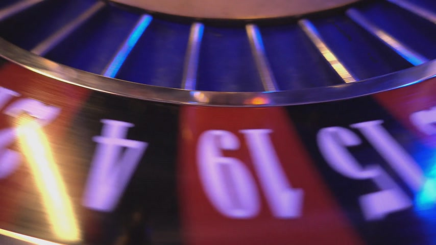 patins : Roulette Wheel in a casino - extreme close up