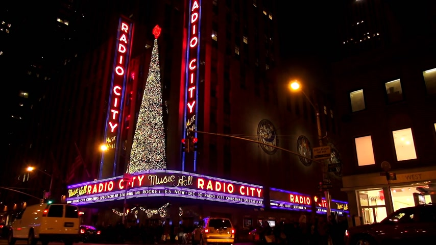 scoprire : Radio City Music Hall al Rockefeller Center