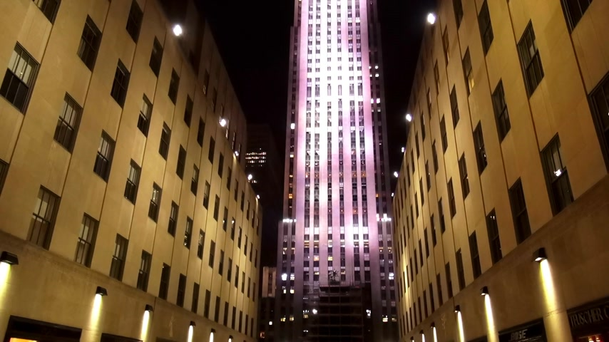 scoprire : Rockefeller center