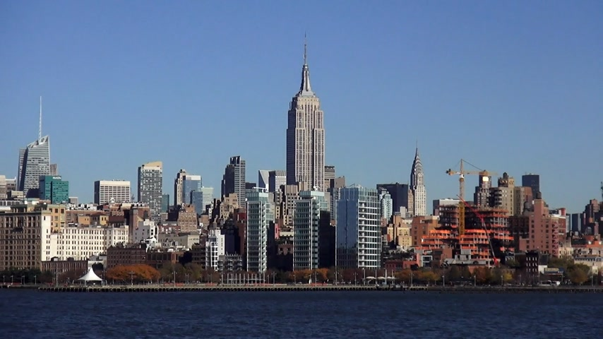 descobrir : Manhattan Skyline with Empire State Building